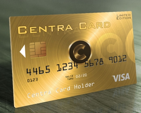 Centra Bitcoin Debit Card