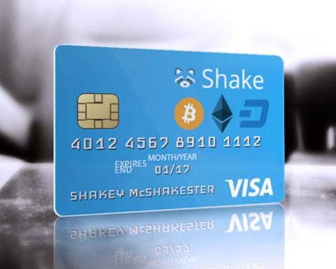 shakepay bitcoin debit card